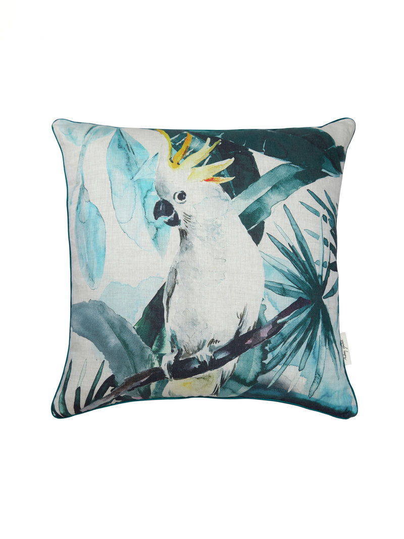 COCKATOO CUSHION - AUDREY GACHET