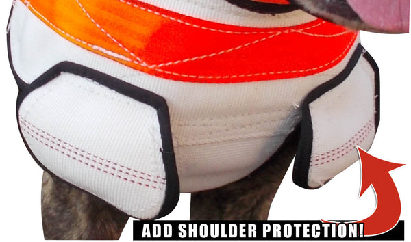 Sewn on Shoulder protetion