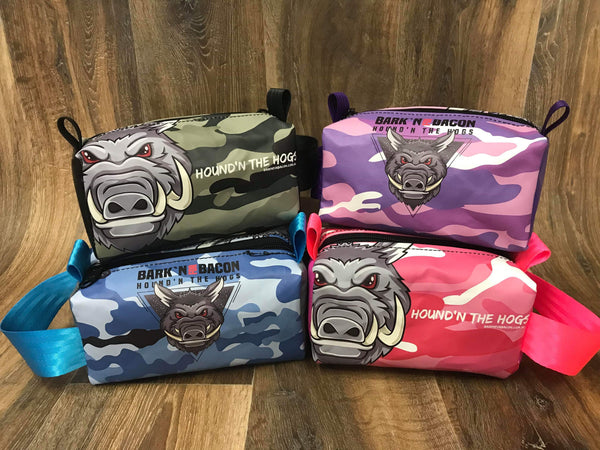 Bark'n For Bacon Camo Toiletry Bag