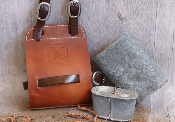 Leather Quart Pot Holder