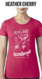 Ruhland Ranch Vintage Womens T-Shirts