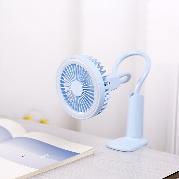 Flexible Fan With LED Light