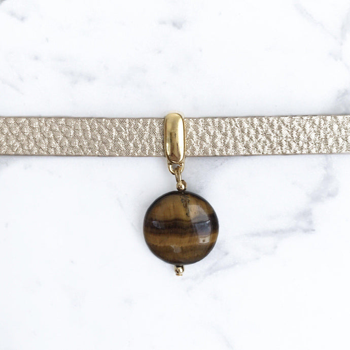 Tiger Eye Collar