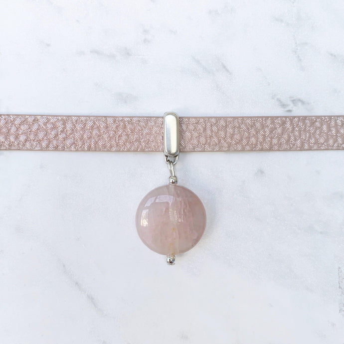 Rose Quartz Collar