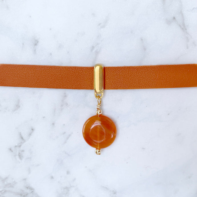 Red Onyx Collar
