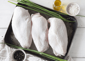 Certified Organic Chicken Breast Fillets - 1kg
