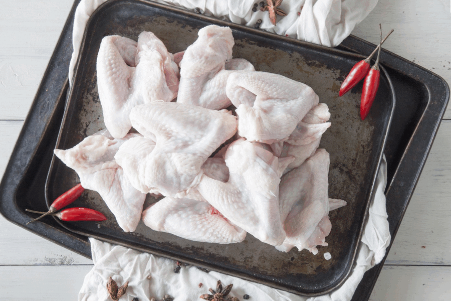 Certified Organic Chicken Wings - 1kg