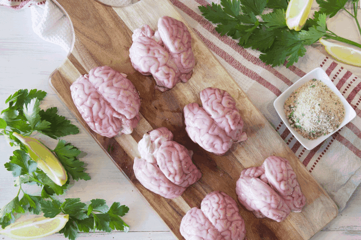 Certified Organic Lamb Brains (limited availability)