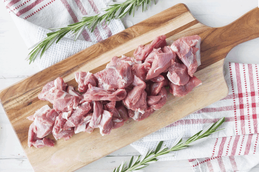 Certified Organic Lamb Diced