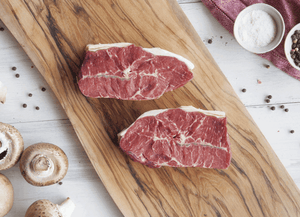 Certified Organic Oyster Blade Steak