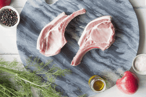 Certified Organic Pork French Cutlets