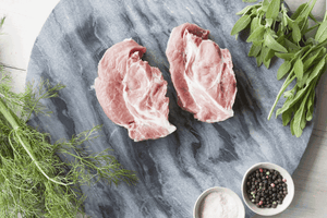 Certified Organic Pork Scotch Steak