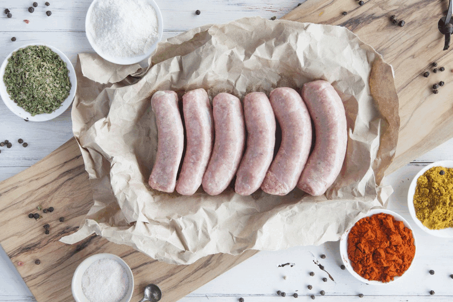 Certified Organic Traditional Lamb Gourmet Sausages