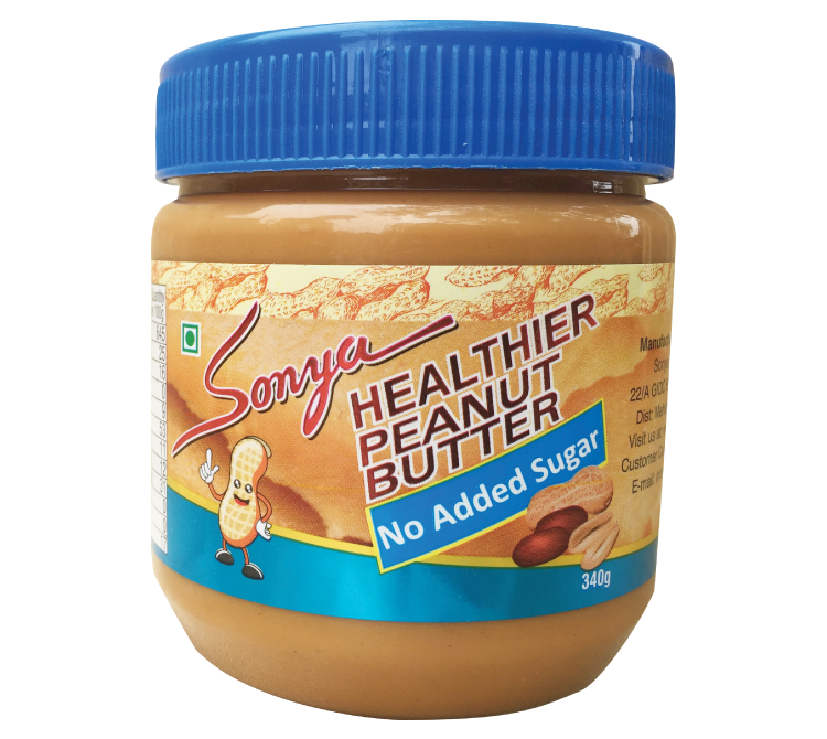 No Added Sugar Peanut Butter