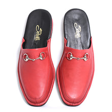 Load image into Gallery viewer, Prince Elton leather slippers with leather sole