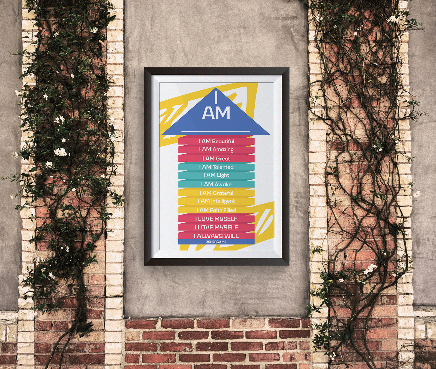 """I AM Pledge"" Affirmation Wall Gem"