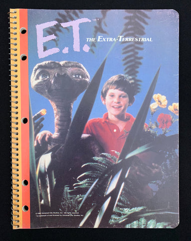 """1982"" Unused E.T. Notepad (E.T / Elliot)"