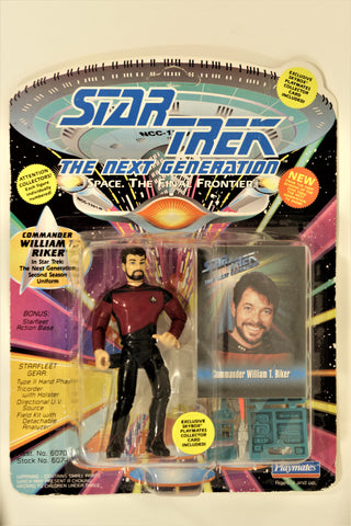 Star Trek: The Next Generation - COMMANDER WILLIAM T. RIKER