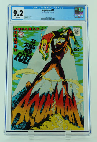 Aquaman - Issue #42 - CGC Universal: 9.2