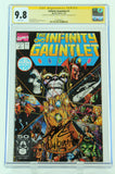 The Infinity Gauntlet - DC - Issue #1 - CGC Universal: 9.8 - Signed by Joe Rubinstein & Jim Starlin