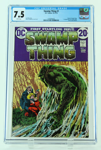 Swamp Thing - Issue #1 - CGC Universal: 7.5