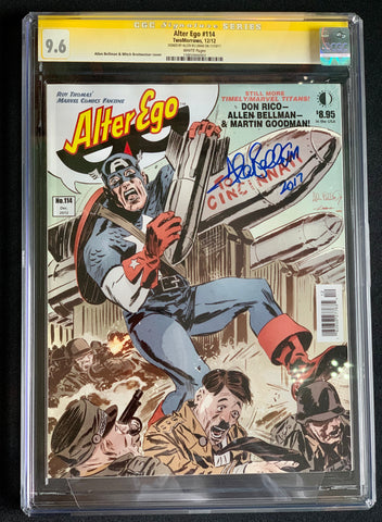 Alter Ego Magazine #114 - CGC Signature Series 9.6 - Signed by Allen Bellman