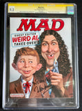 "Mad Magazine #533 - CGC Signature Series 9.2 - Signed by ""Weird Al"" Yankovic"