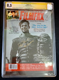 Filmfax #4 (1986) - CGC Signature Series 8.5 - Signed by Ricou Browning