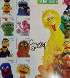 Sesame Street 50th Anniversary Stamps - CGC Signature Series - Signed by Caroll Spinney Big Bird