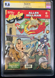 Alter Ego Magazine #154 - CGC Signature Series 9.6 - Signed by Allen Bellman