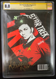 Star Trek: The Official Magazine #31 - CGC Signature Series 8.0- Signed by Nichelle Nichols