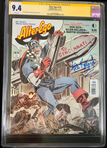 Alter Ego Magazine #114 - CGC Signature Series 9.4 - Signed by Allen Bellman