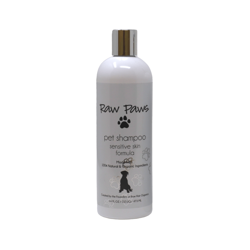 Raw Paws Natural & Organic Pet Shampoo 16 oz