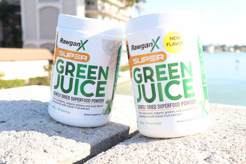 Super Green Juice: Buy One NEW Pineapple Mango Flavor, Get One Original Monkfruit Flavor Free - 60 days