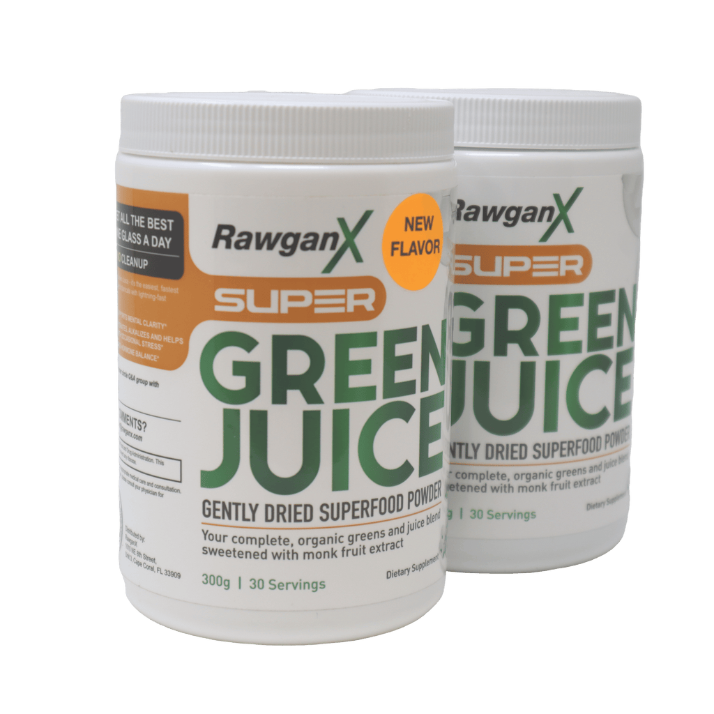Super Green Juice: Buy One Monkfruit, Get One NEW Mango Pineapple Free - 60 days