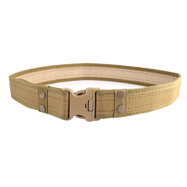 Tactical Belt with Plastic Buckle (Quick Snap Side Release