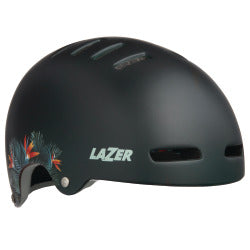 LAZER Unisex City Armor Casque matte green flowers
