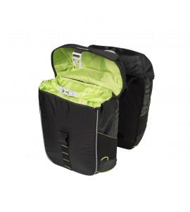 BASIL MILES DOUBLE BAG, 32L, BLACK L