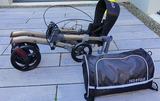 Rollator Neo Fold Evolution champagne ou gris mat