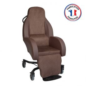 FAUTEUIL A POUSSER POSTURE ASSISE FORME COQUILLEDalayrac