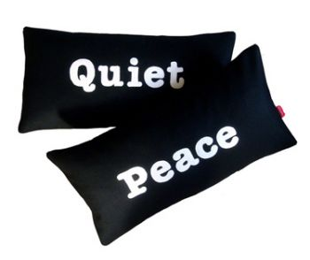 Peace and Quiet cushion set