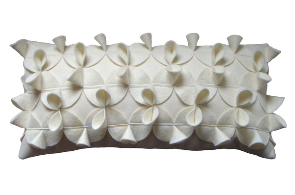 Origami (A) cream cushion