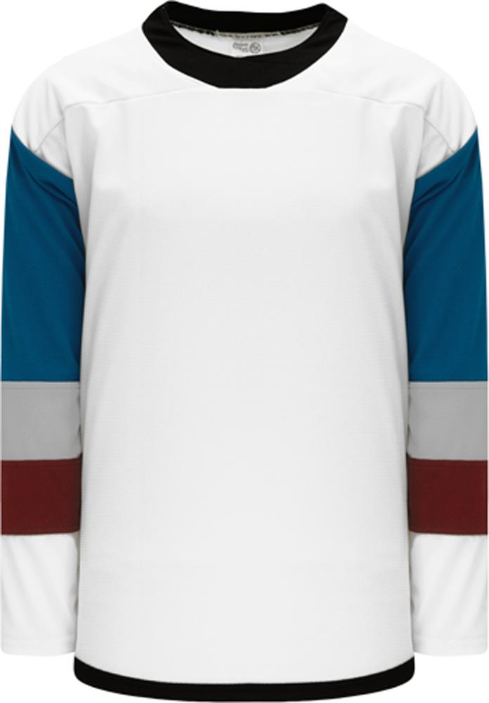2016 COLORADO STADIUM SERIES WHITE Blank Hockey Jerseys