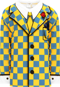 THE DON Cherry MAIZE AND SKY Pro Blank Hockey Jerseys