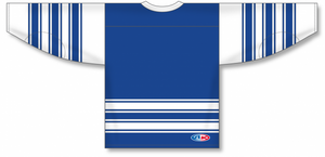 CLASSIC TORONTO ROYAL Sleeve Stripes Pro Blank Hockey Jerseys