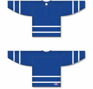 NEW TORONTO ROYAL Sleeve Stripes Pro Blank Hockey Jerseys