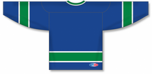 Load image into Gallery viewer, VANCOUVER ROYAL Sleeve Stripes Pro Blank Hockey Jerseys