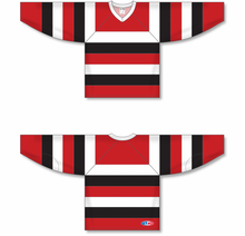 Load image into Gallery viewer, 67'S AWAY (OTTAWA) Knitted Body And Sleeve Stripes Blank Hockey Jerseys