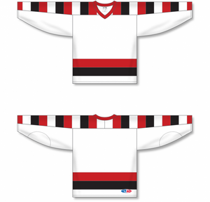 67'S HOME (OTTAWA) V-neck Pro Blank Hockey Jerseys