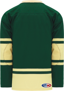 2004 ALL STARS FOREST Lace Neck Blank Hockey Jerseys